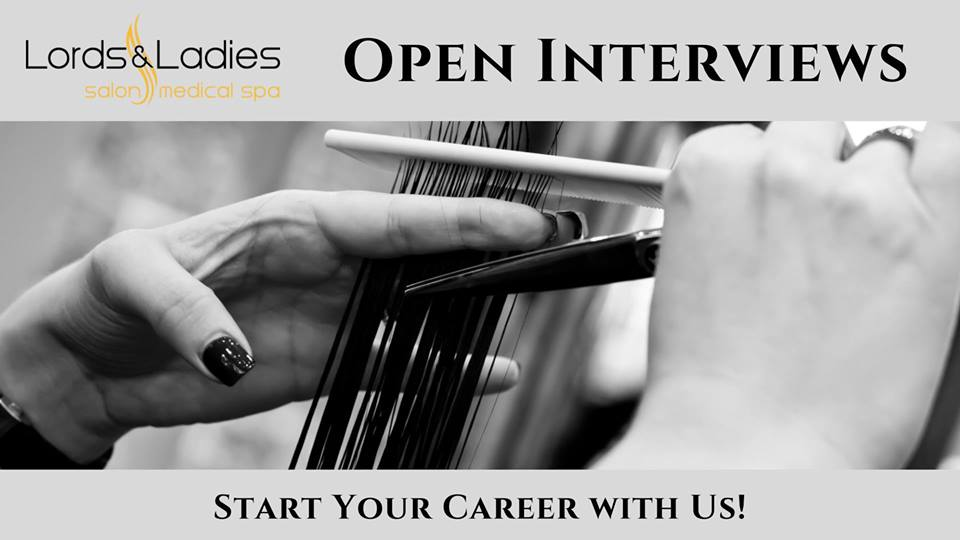 Open Interviews! | Lords & Ladies Salons, Reading PA