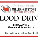 Miller Keystone Blood Drive