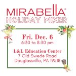 Merry & Bright: Mirabella Holiday Mixer